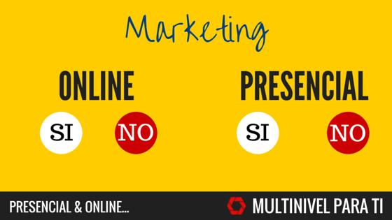 El correcto equilibrio de tu negocio multinivel online y presencial.