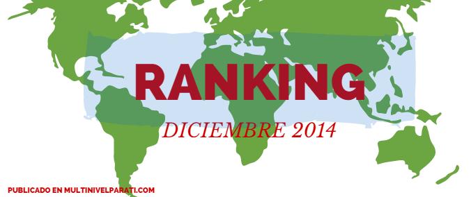 ranking de líderes multinivel diciembre 2014