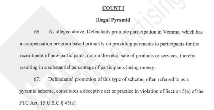 Venma y demanda de la FTC